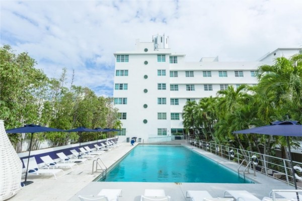 Piscine - Albion South Beach 3* Miami Etats-Unis