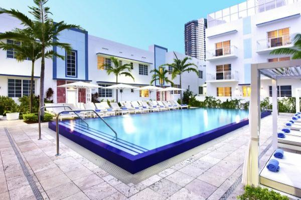 Piscine - Hôtel Framissima Immersion Pestana South Beach 4* Miami Etats-Unis