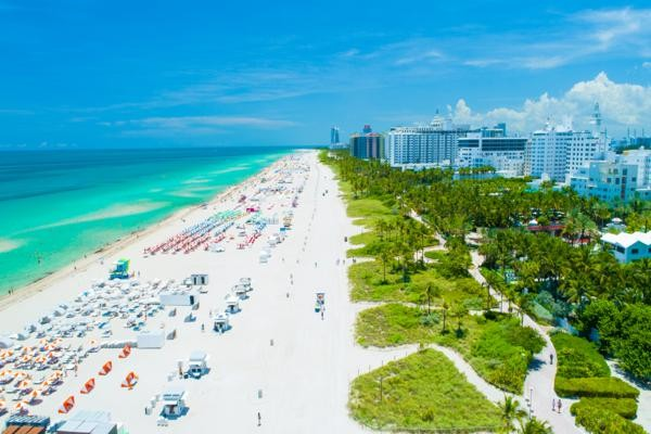 Plage - Hôtel Fram Immersion Pestana South Beach 4* Miami Etats-Unis