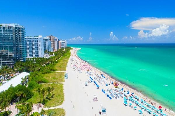 Plage - Hôtel Kappa City Miami - WPH South Beach 4* 4* Miami Etats-Unis