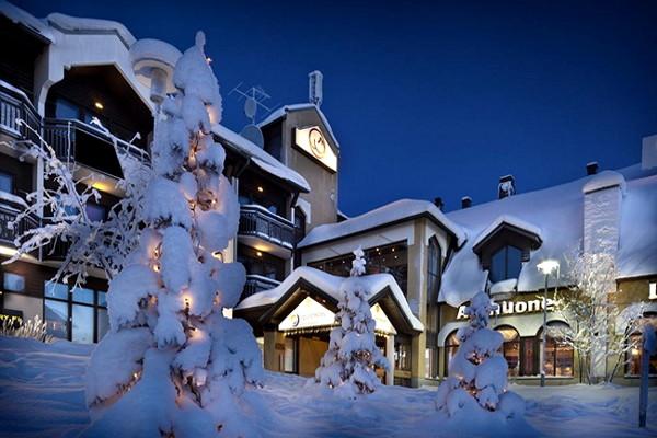 Facade - Hôtel Riekonlinna 3* : Séjour lapon Ivalo Finlande