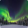 Aurores boréales - Framissima Premium Holiday Club Laponie (demi-pension, activités incluses)