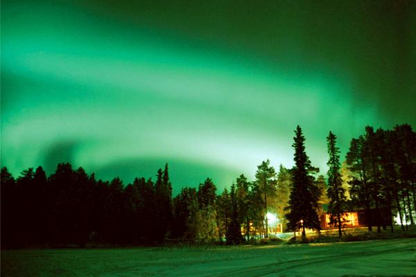 Nature - Circuit Poème Blanc à l'hôtel Sirkantähti 3* Kittila Finlande