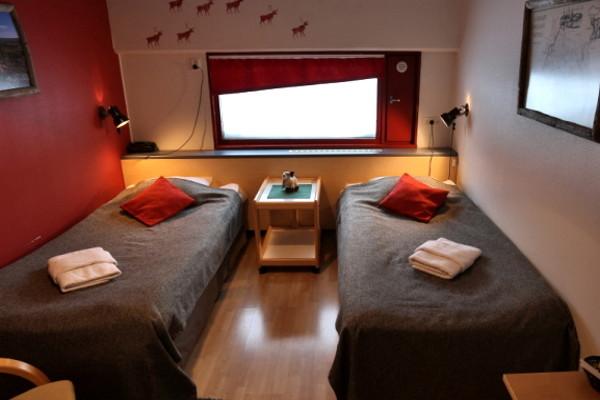 Chambre - Hôtel Séjour activités Explorateur fêtes de fin d'année à l'hôtel Yllas Lake 3* Kittila Finlande