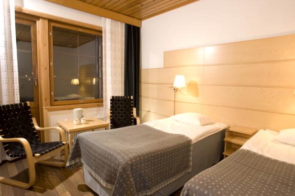 Chambre - Hôtel Séjour Activités fêtes de fin d'année à l'hôtel Levi Spa 4* Kittila Finlande