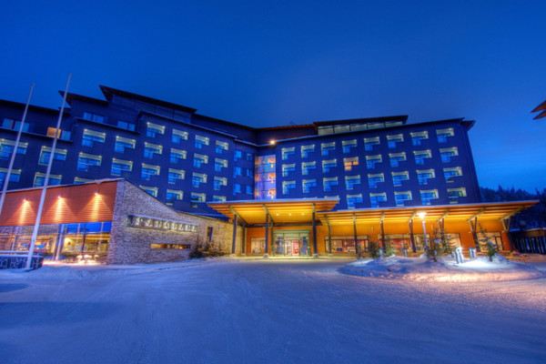 Facade - Hôtel Séjour activités à l'hôtel Levi Panorama 4* Kittila Finlande