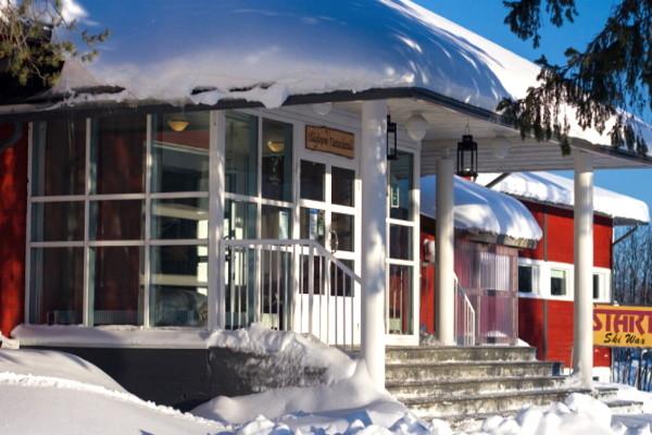 Facade - Hôtel Séjour activités Explorateur fêtes de fin d'année à l'hôtel Yllas Lake 3* Kittila Finlande