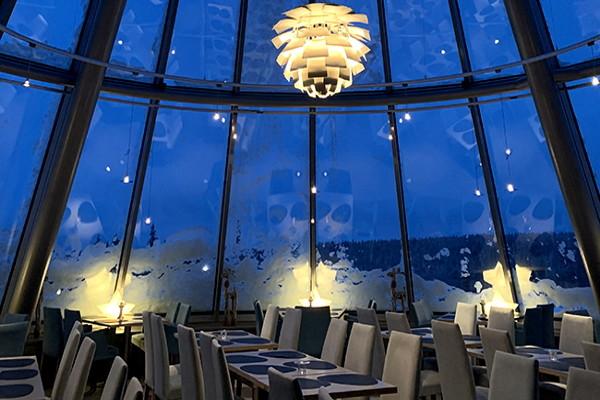 Restaurant - Hôtel Séjour Réveillons à l'hôtel Olos 4* Kittila Finlande
