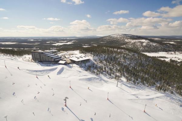 Vue panoramique - Hôtel Séjour activités à l'hôtel Levi Panorama 4* Kittila Finlande