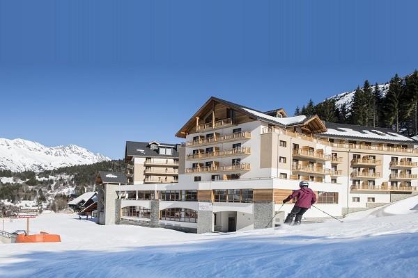 Facade - Club Village Club du Soleil Oz-en-Oisans 4* Alpe d'Huez France Alpes
