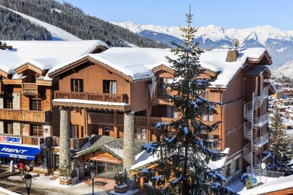 Facade - Hôtel Blanche Neige 3* Courchevel France Alpes
