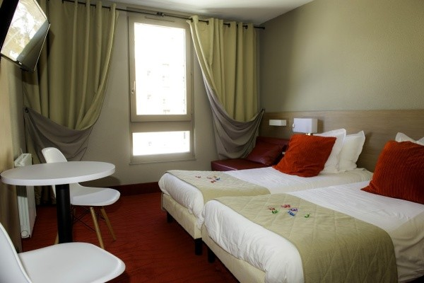 Chambre - Hôtel Soleil Vacances Le Pas du Loup 3* Isola 2000 France Alpes