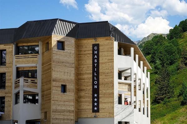 Facade - Résidence hôtelière New Chastillon Isola 2000 France Alpes