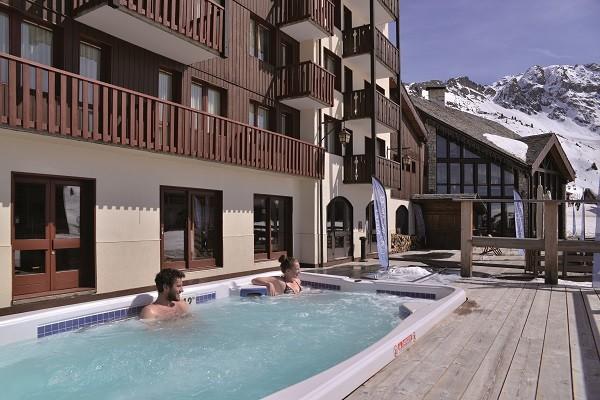 Piscine - Hôtel Vacances bleues Belle Plagne 3* La Plagne France Alpes