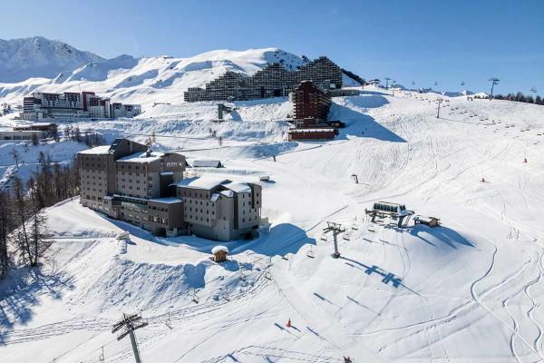 Vue panoramique - Club Marmara Plagne 2000 4* La Plagne France Alpes