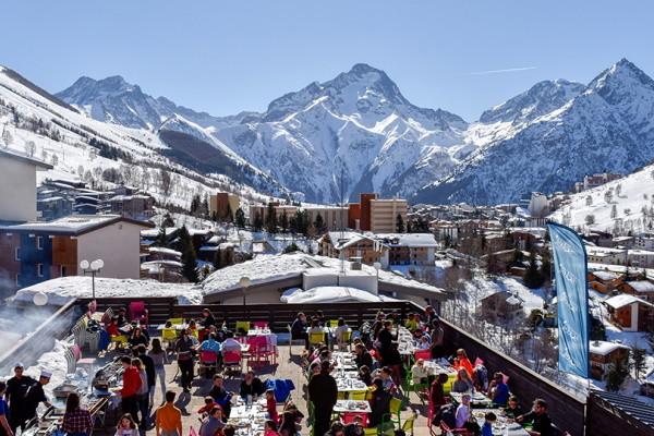 Vue panoramique - Club Village Club du Soleil Les 2 Alpes 3* Les 2 Alpes France Alpes