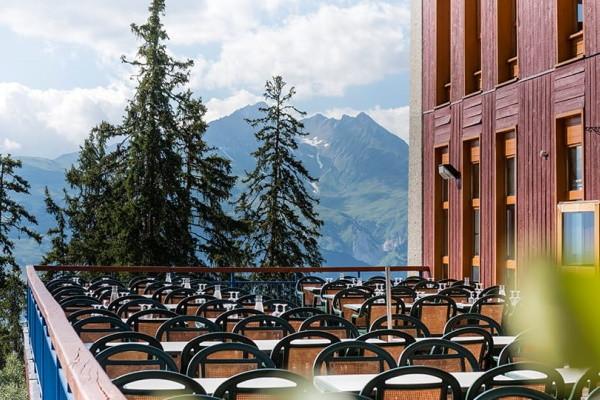 Terrasse - Club Village Club du Soleil Arc 1800 4* Les Arcs 1800 France Alpes