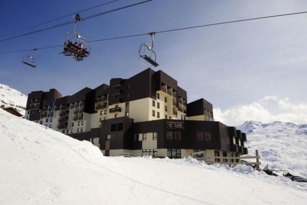 Facade - Club Village club du Soleil Les Ménuires 3* Les Menuires France Alpes