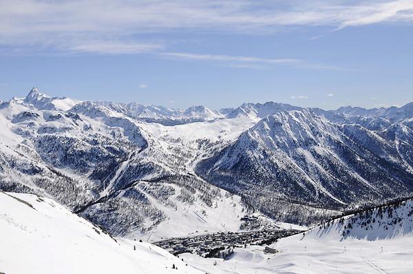 Vue panoramique - Club Village Club du Soleil Montgenèvre 3* Montgenèvre France Alpes