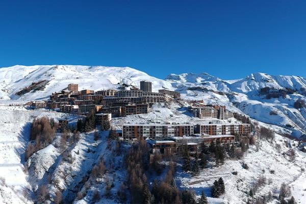 Vue panoramique - Club Village Club du Soleil d'Orcières Merlette 1850 3* Orcières France Alpes