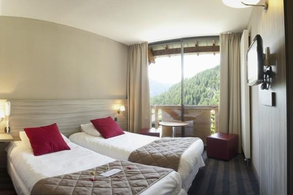 Chambre - Hôtel Les Bergers Resort 3* Pra Loup France Alpes
