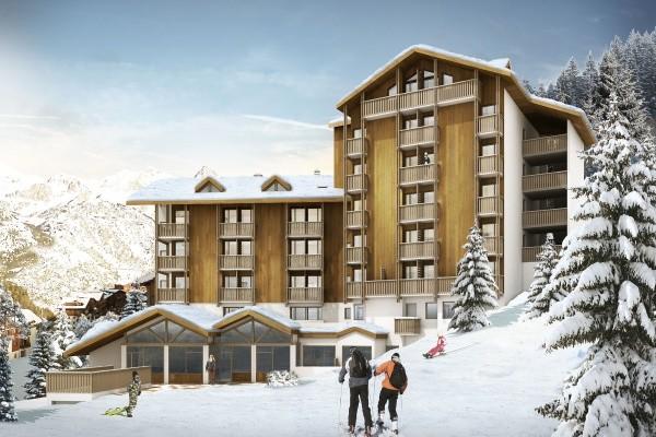 Facade - Hôtel Club du Soleil Valfréjus 3* Valfréjus France Alpes