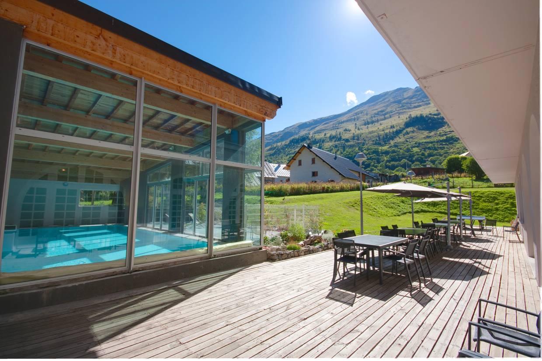 Terrasse - Village Vacances La Pulka 3* Valloire France Alpes