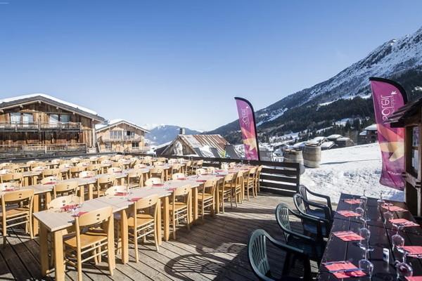 Terrasse - Club Village Club du Soleil Valmorel 3* Valmorel France Alpes