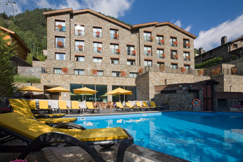 Piscine - Hôtel Princesa Parc 4* Arinsal France Andorre