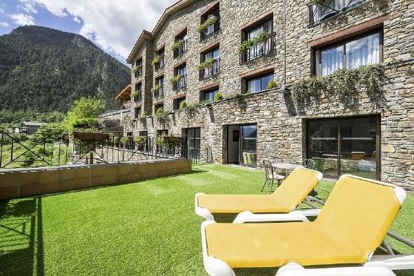 Terrasse - Hôtel Diana Parc 5* Arinsal France Andorre