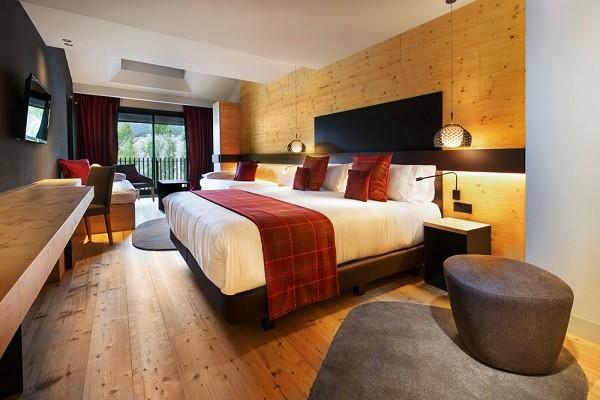 Chambre - Hôtel Park Piolets Mountain Hotel & Spa 4* Soldeu/ El Tarter France Andorre