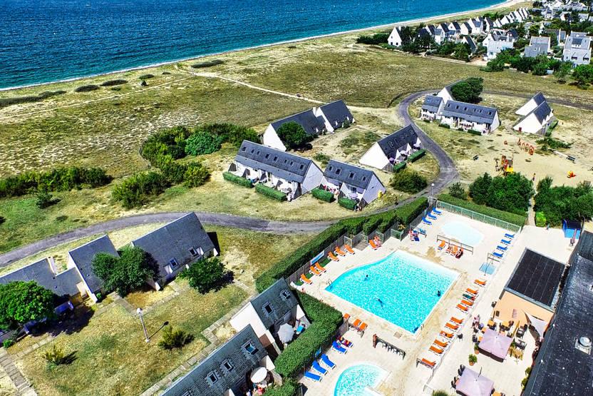 Vue panoramique - Village Vacances Fram Résidence Club Presqu'île de Guérande - La Baule - Logement seul 3* La Turballe France Bretagne