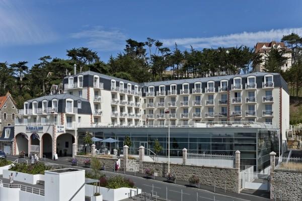 Facade - Hôtel Spa Marin du Val André Thalasso Resort 4* Pléneuf-Val-André France Bretagne
