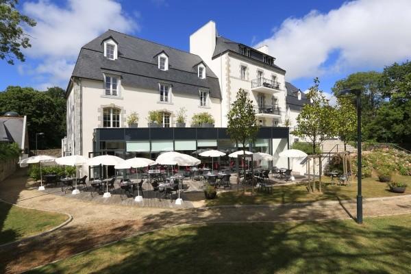 Facade - Résidence hôtelière Domaine de Pont-Aven Art Gallery Resort 3* Pont-Aven France Bretagne