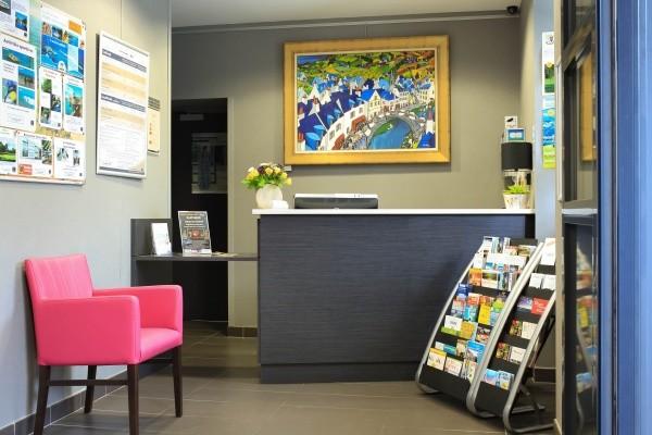Reception - Résidence hôtelière Domaine de Pont-Aven Art Gallery Resort 3* Pont-Aven France Bretagne