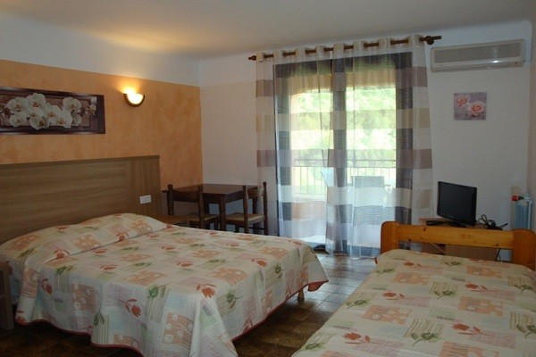 Chambre - Résidence locative Cabanaccia (avec transport) 3* Ajaccio France Corse