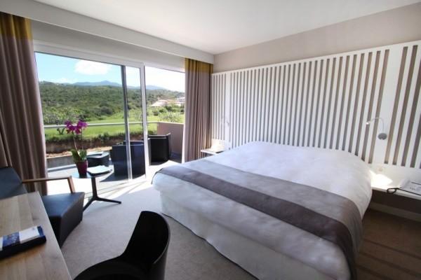 Chambre - Hôtel Radisson Blu Resort and Spa Ajaccio Bay 4* Ajaccio France Corse