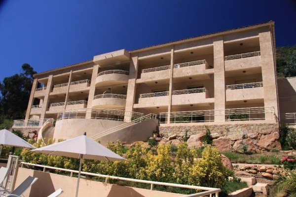Facade - Hôtel Costa Rossa 3* Ajaccio France Corse