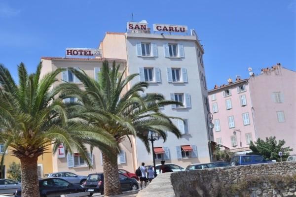 Facade - Hôtel San Carlu Citadelle (sans transport) 3* Ajaccio France Corse