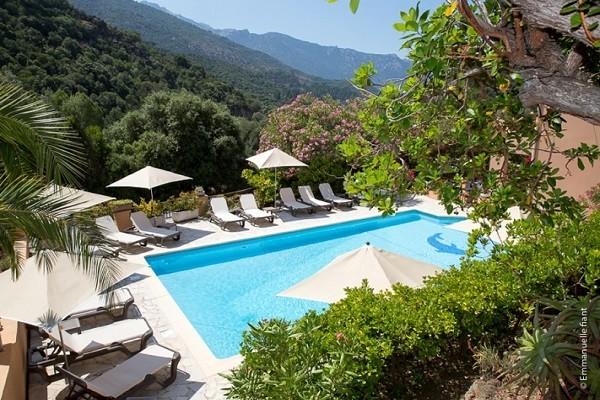 Piscine - Résidence locative Cabanaccia (avec transport) 3* Ajaccio France Corse