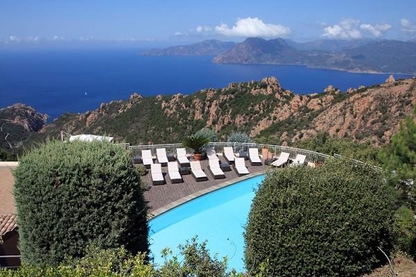 Piscine - Hôtel Capo Rosso (avec transport) 4* Ajaccio France Corse