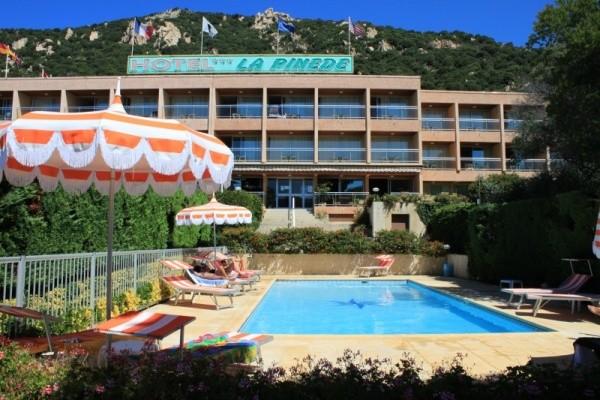 Piscine - Hôtel La Pinède 3* Ajaccio France Corse