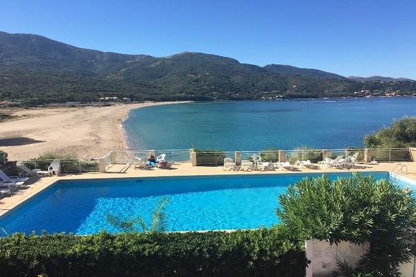 Piscine - Résidence locative Les Sables Blancs de la Liscia (sans transport) Ajaccio France Corse