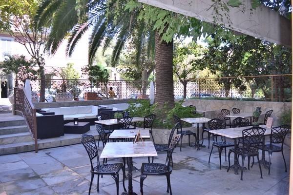 Terrasse - Hôtel Albion 3* Ajaccio France Corse