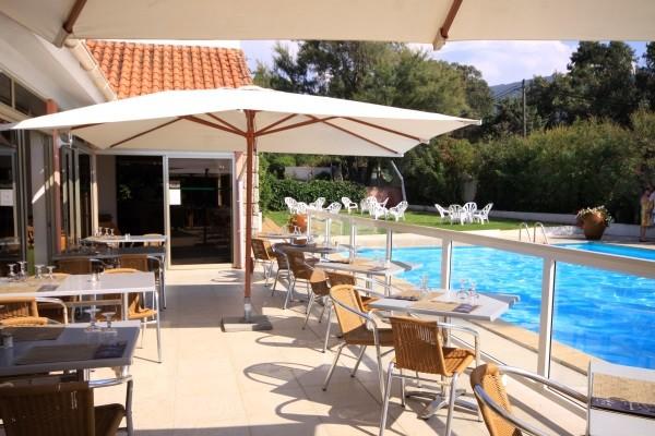 Terrasse - Hôtel Arcu Di Sole (avec transport) 2* Ajaccio France Corse