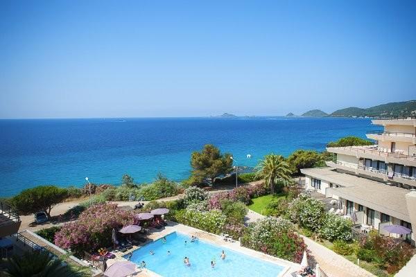 Vue panoramique - Résidence hôtelière Les Calanques (sans transport) 3* Ajaccio France Corse