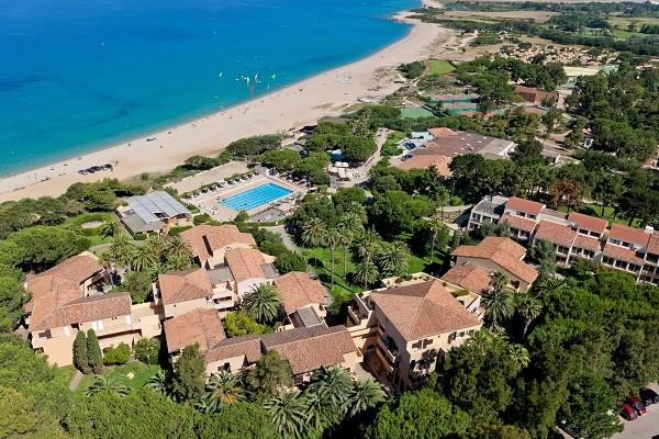 Vue panoramique - Hôtel Marina Viva - sans transport 3* Ajaccio France Corse