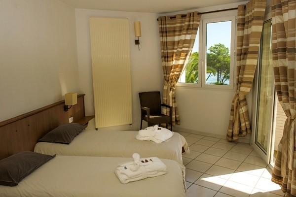 Chambre - Village Vacances Residence des isles 3* Bastia France Corse