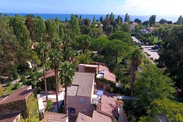 Vue panoramique - Club Naya Corse 3* Bastia France Corse