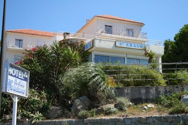 Facade - Hôtel Le Saint Erasme 3* Calvi France Corse